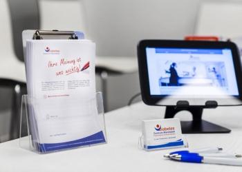 Kritikzettel, Patienten-Tablet